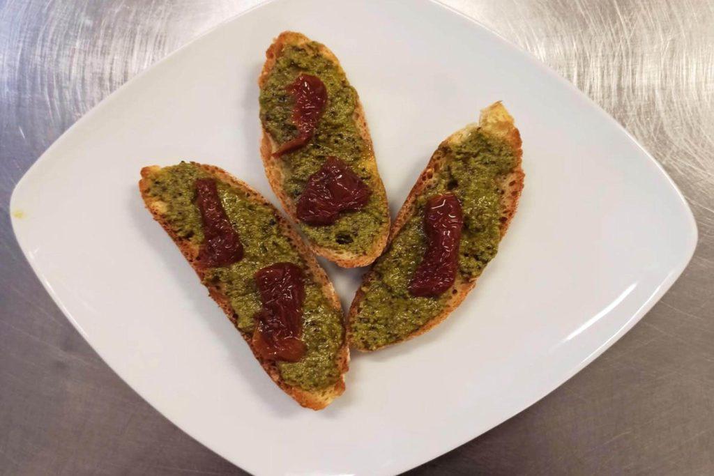 Bruschette al pistacchio - Dolci Delizie