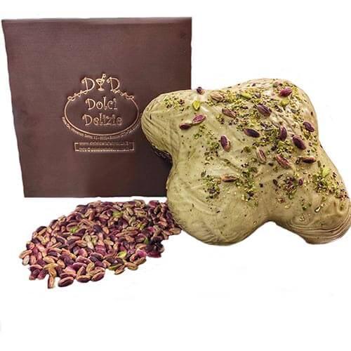 Colomba artigianale pistacchio Bronte