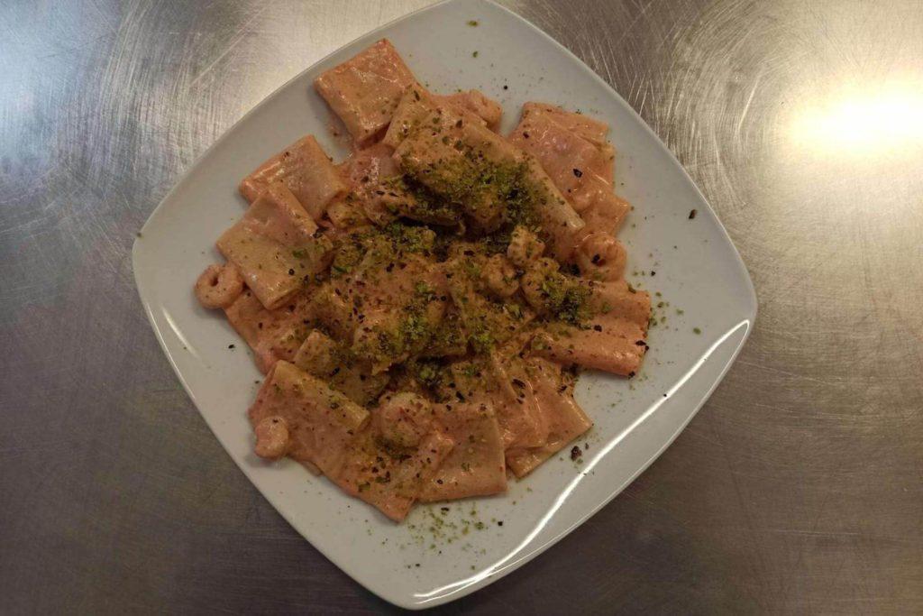 Paccheri pistacchi e gamberetti - Dolci Delizie
