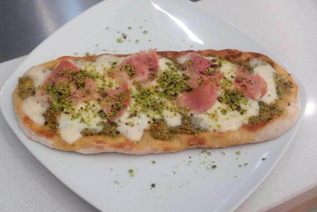 Pizza al pistacchio - Dolci Delizie